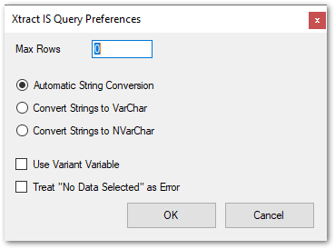 Query-Settings