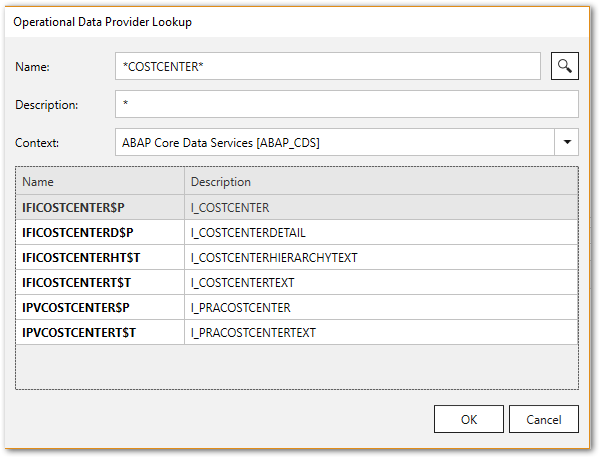 ODP ABAP CDS View