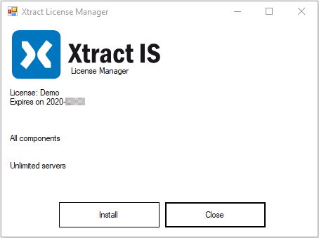 XIS_License_Manager